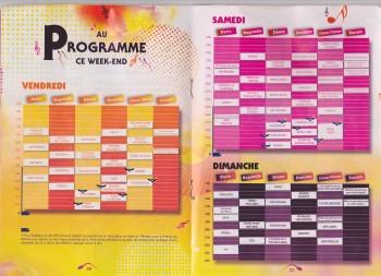 agenda détaillé des concerts