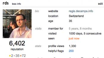 J'ai visité Stackoverflow 1000 fois.